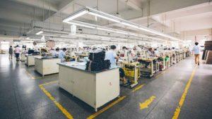Гибкие объёмы производства одежды